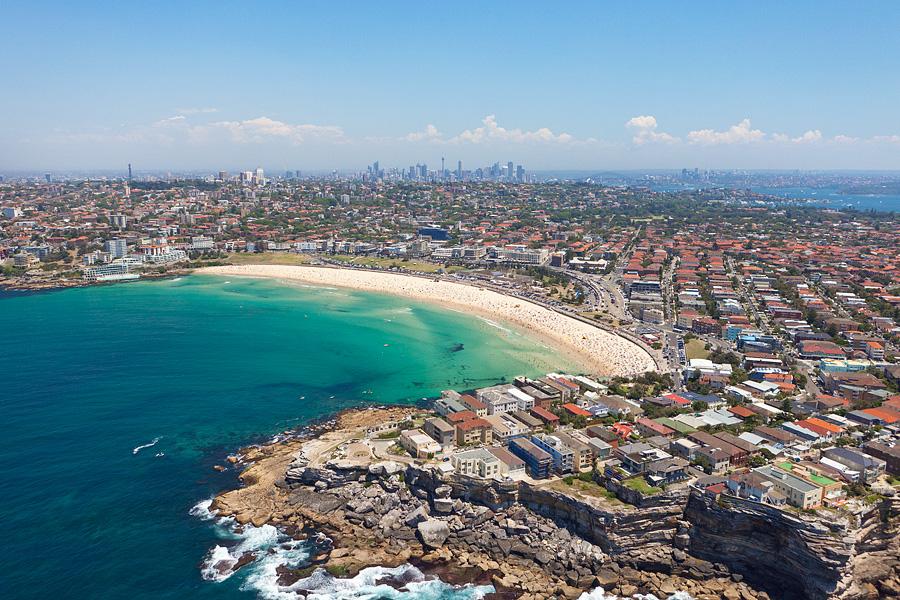 Bondi Beach Aerial Photos Eastern Beaches Sydney Aerial Photography On Canvas Or Framed