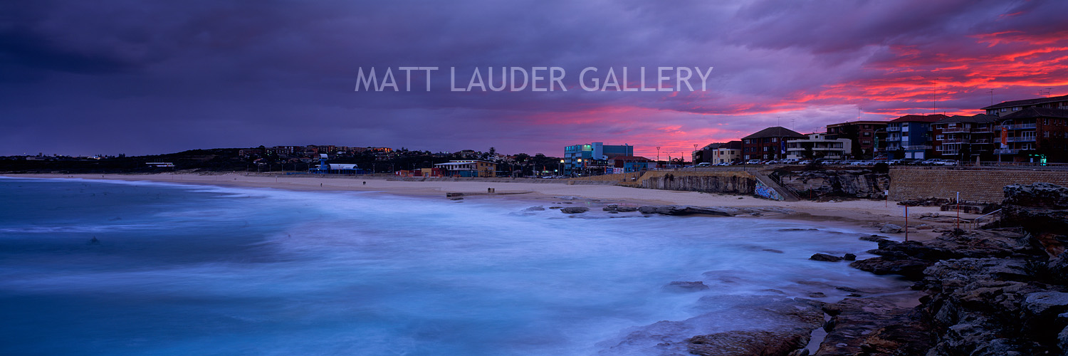 Maroubra Beach Sunset Photos