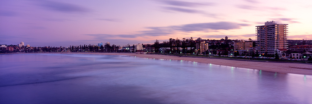 Manly Sunset Landscape Photos