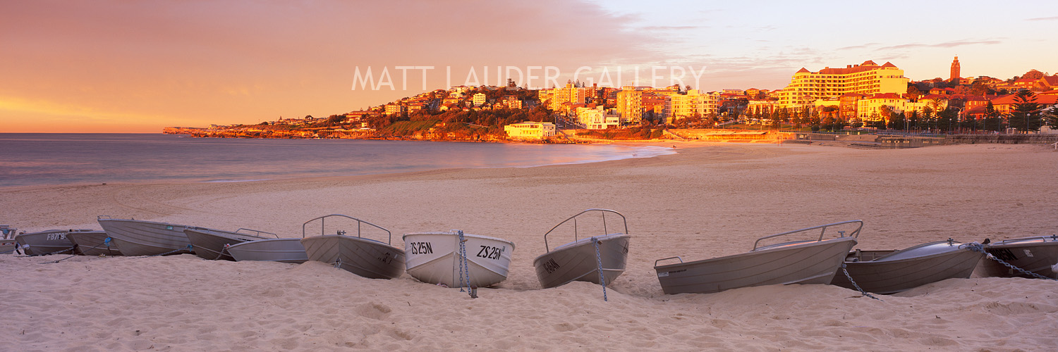Coogee Beach Boats Sunrise Photos