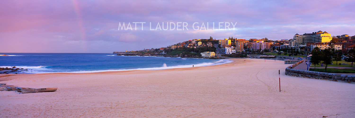 Coogee Beach Soft Colours Landscape Photo