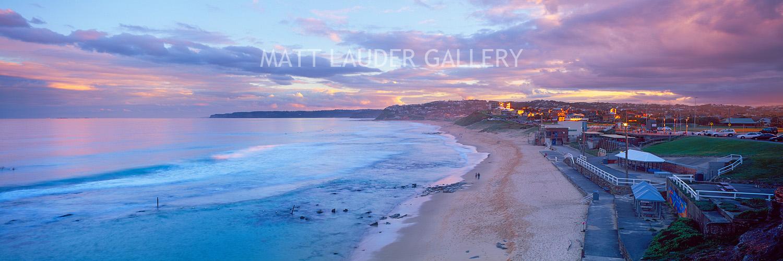 Bar Beach Sunset