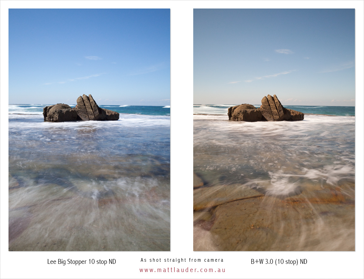 how to use big stopper lee filter