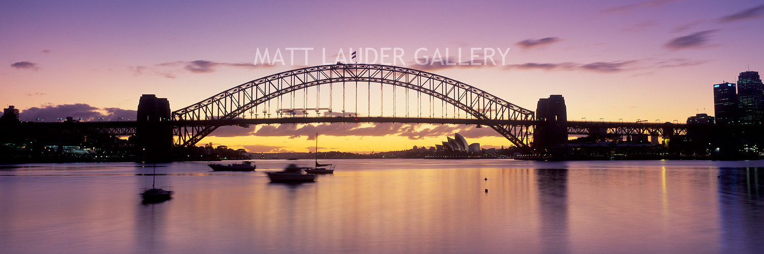 Sydney Harbour Bridge Sunrise Photos