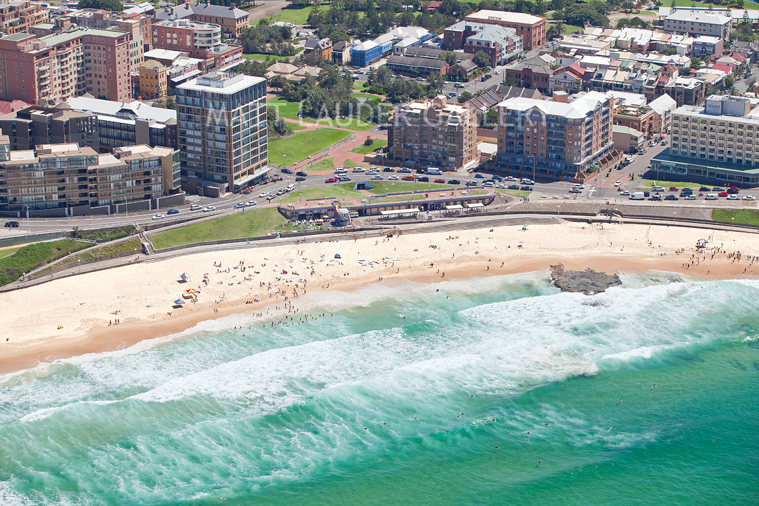 Newcastle Beach Aerial Landscape Photo Images