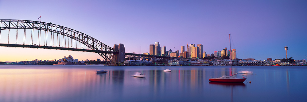 Sydney Harbour Morning Pictures