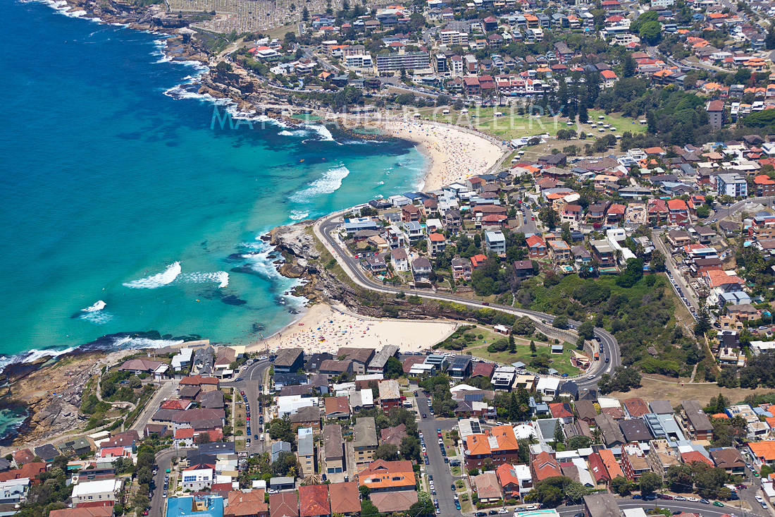 Tamarama to Bronte Beach Aerial Photos