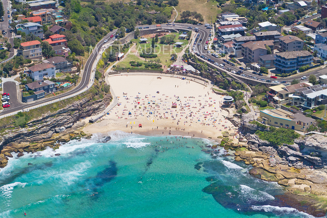 Tamarama Aerial Daytime Landscape Photos Eastern Beaches