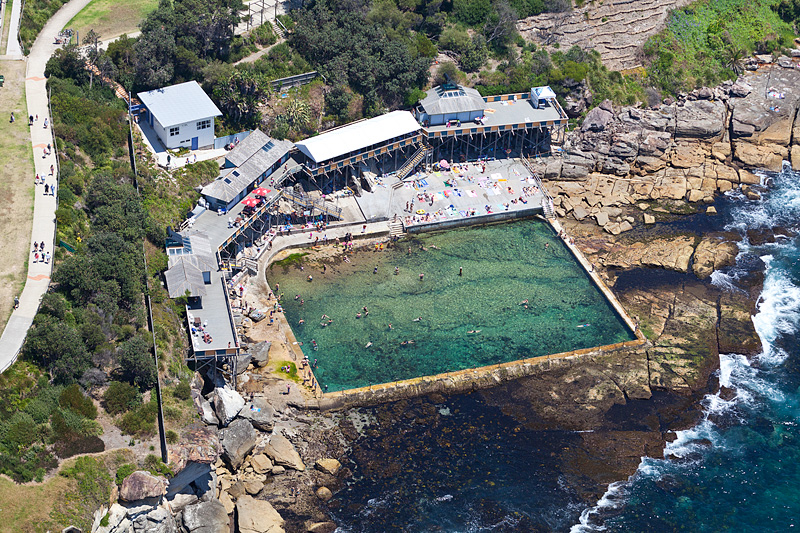 Wylie Baths Aerial Images