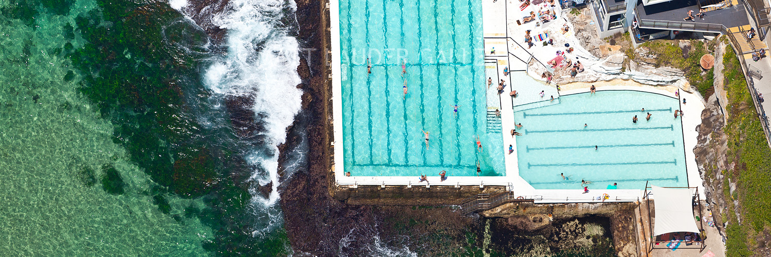 Bondi Icebergs Aerial Panoramic Photos