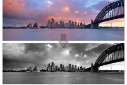 Black and White Sydney Landscape Photography