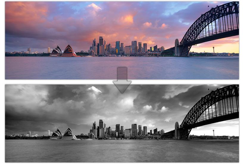 B&W Australian Landscape Photography Sydney