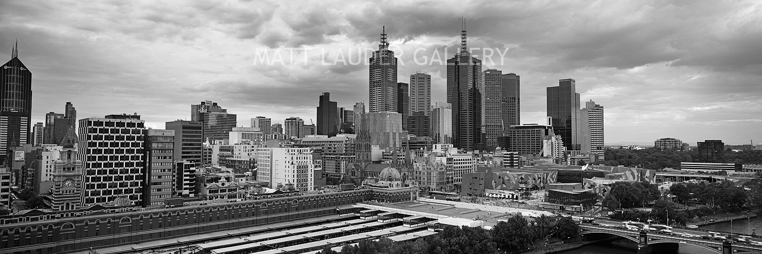 Black and White Photo Melbourne City Images