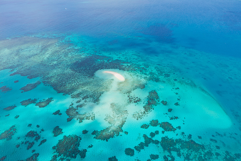 Vlassof Cay Great Barrier Reef Aerial Photo