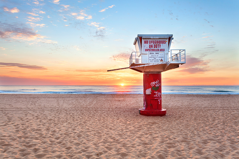 Avoca SLSC Tower