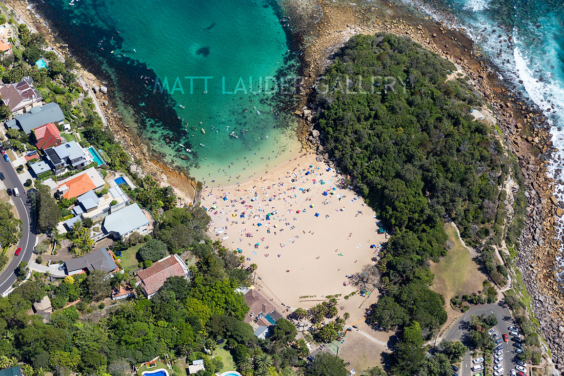 Shelly Beach Aerial Images Manly