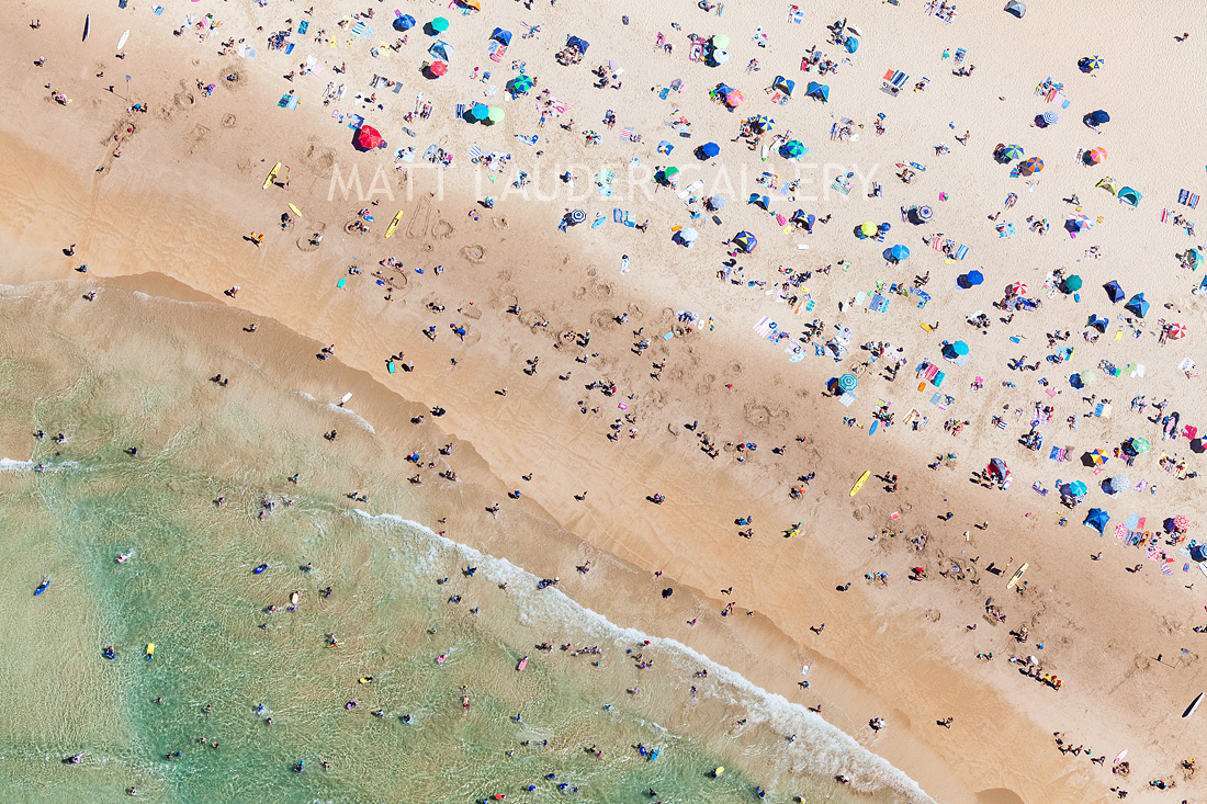 Manly Beach Aerial Photos
