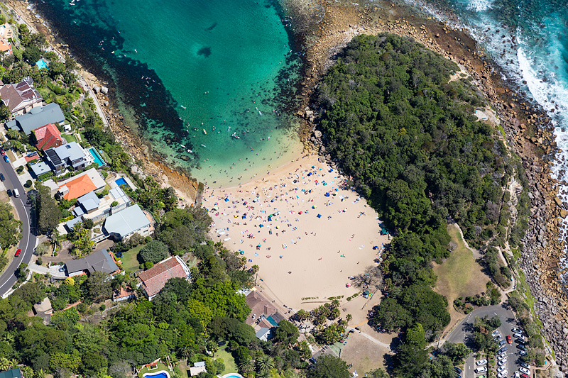 Shelly Beach Aerial Photography Manly