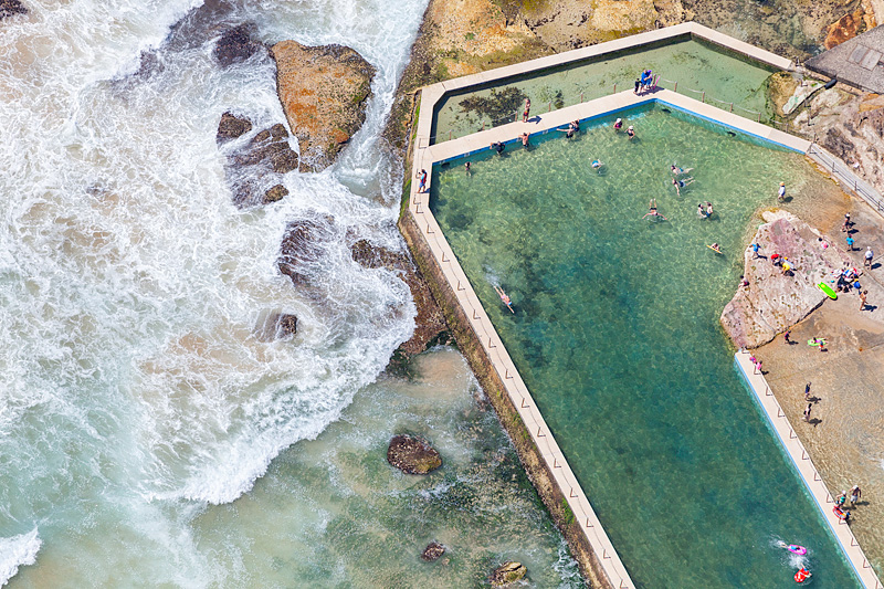 South Curl Curl Baths
