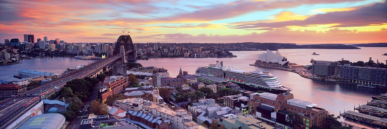 Sydney Harbour on a Glorious Sunrise