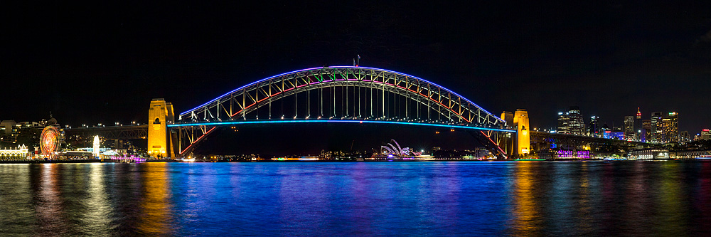 Sydney Harbour Bridge - Vivid
