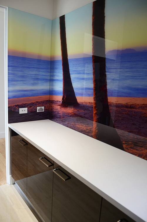 Landscape Photos Printed on Glass