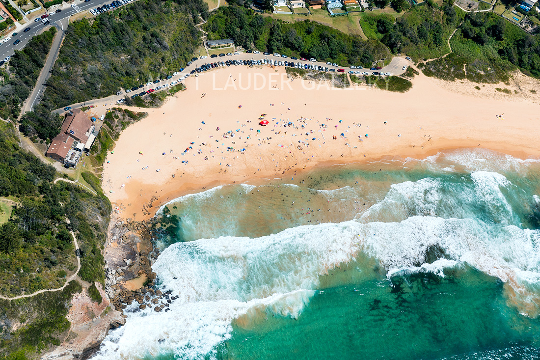 Warriewood Beach Aerial Landscape Photos