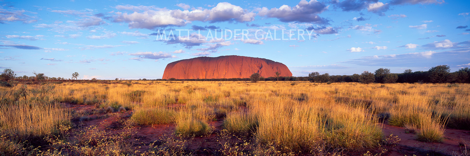 Uluru Panoramic Landscape Photos