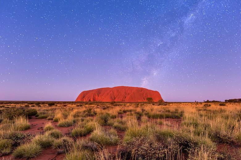 Uluru Star Filled Sky
