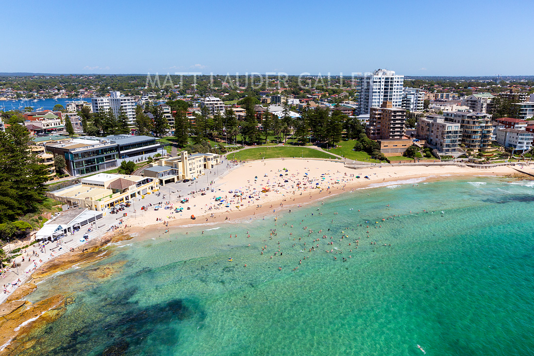 Cronulla Beach Summer Aerial Photography