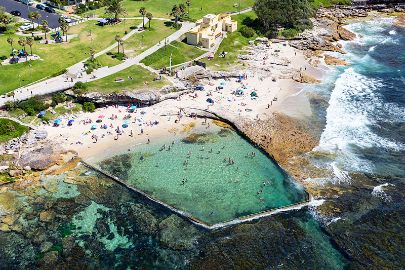 Oak Park Beach Rock Pool