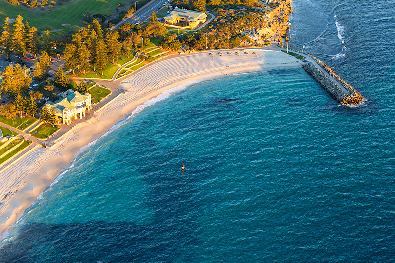 Cottesloe Beach Aerial Photos
