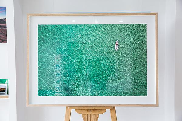 Tasmanian Oak Frame - 60 x 40 inch print.