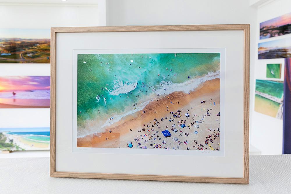 Raw Tasmanian Oak Picture Framing Sydney Newcastle Central Coast