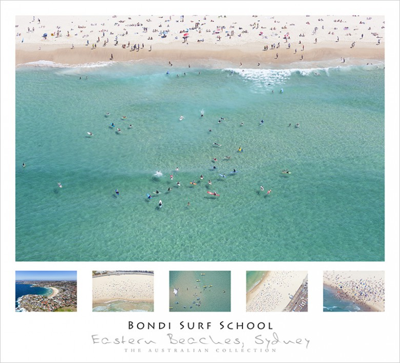 Bondi Surf School Wall Poster