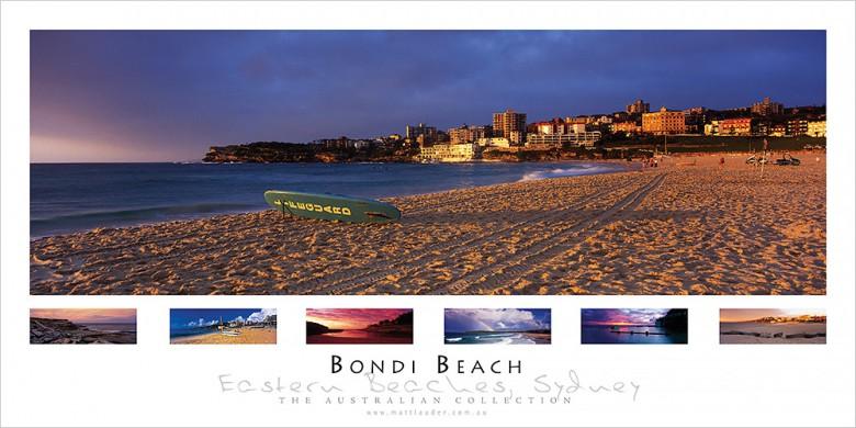 Bondi Beach Landscape Poster
