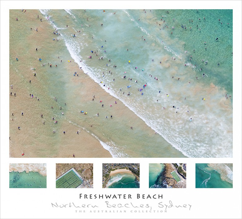Freshwater Beach Wall Poster