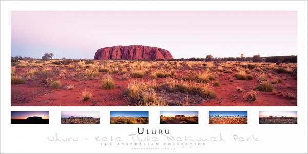Uluru Landscape Poster