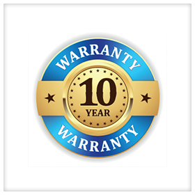 10 Year Workmanship Warranty