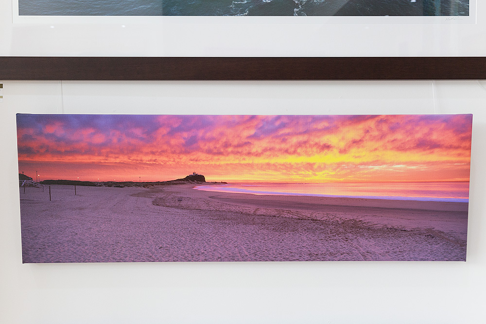 Nobbys Beach 50 inch Canvas
