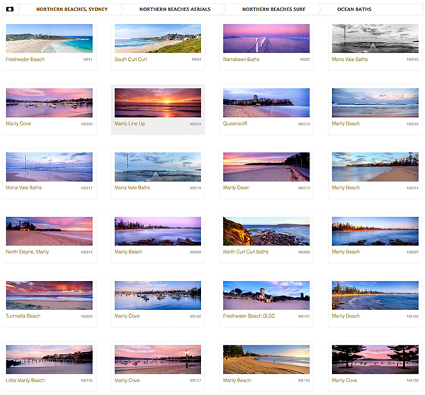 Manly Beach Photo Gallery