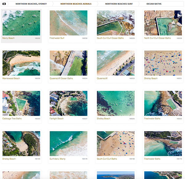 Northern Beaches Aerial Photo Gallery