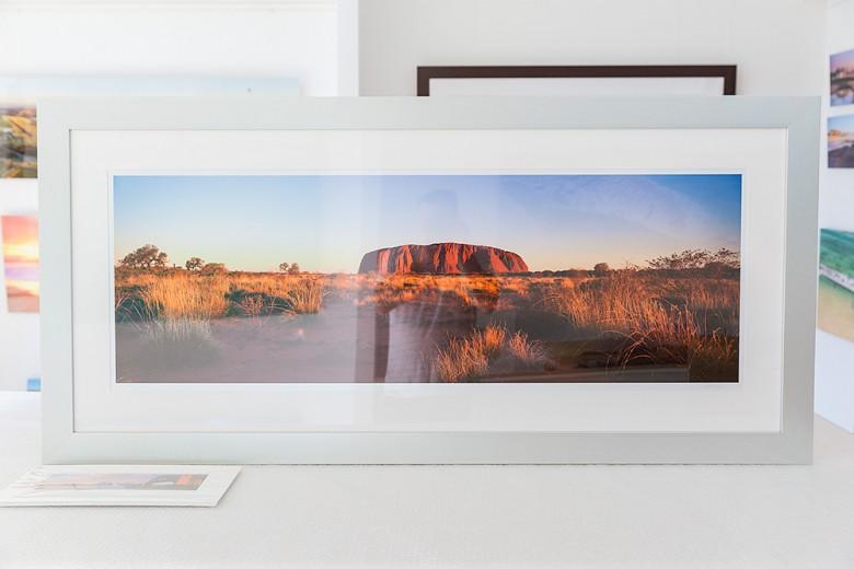 Uluru 50 inch framed