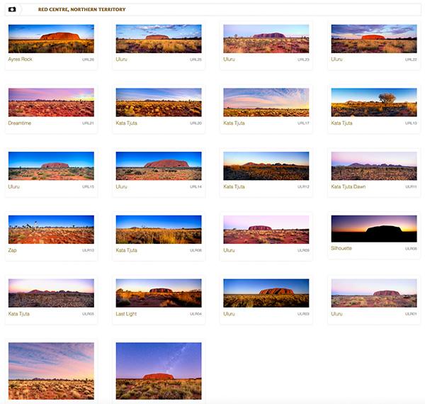 Uluru image gallery