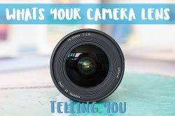 What do the Numbers and Letters on your Camera Lens mean