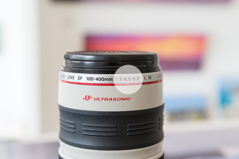 Maximuim Aperture on a Lens