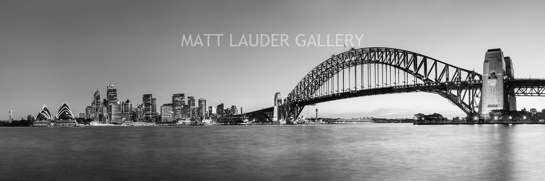 Sydney Black and White Photo Art