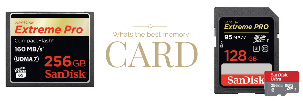 Finding the Best Camera Memory Card
