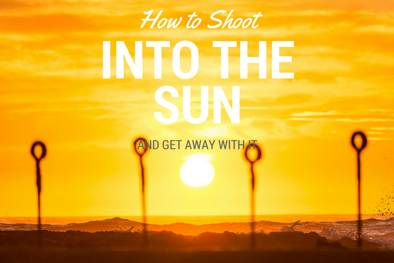 How to Shoot into the Sun With a Digital Camera