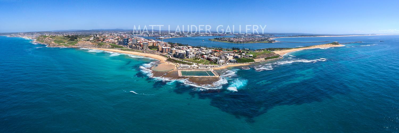 Newcastle Acrylic Aerial Photos